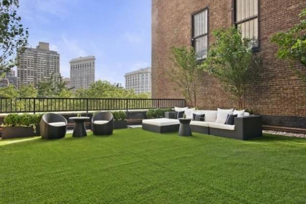 Come utilizzare i manti erbosi naturali su terrazzi e lastrici ...